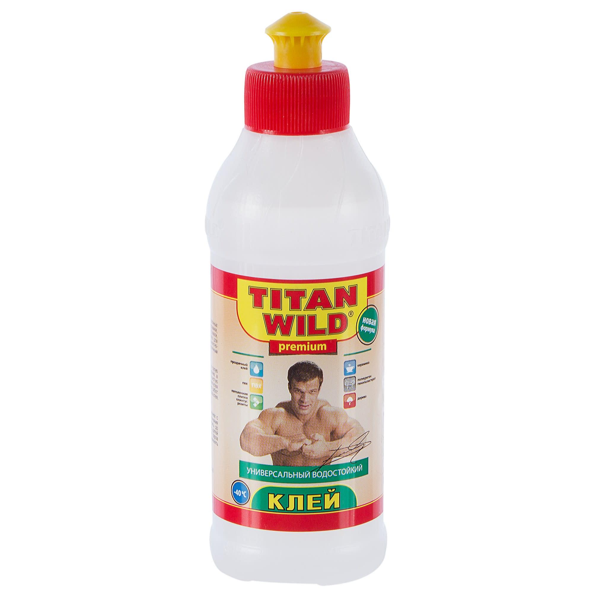 Клей титан в картинках